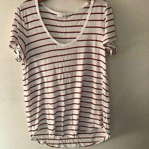 Aritzia Wilfred Free Striped T-shirt